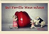 Bei Familie Maus zuhaus (Wandkalender 2019 DIN A2 quer): Eine mäusehafte Bildergeschichte (Monatskalender, 14 Seiten ) (CALVENDO Hobbys)