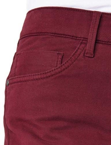 Pioneer Damen Straight Leg Hose KATE Rot (rubin red 96)