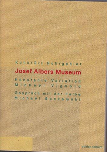 KunstOrt Ruhrgebiet, 8 Bde, Bd.2, Das Josef Albers Museum in Bottrop Buch-Cover