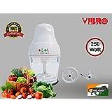 Vibro I20 Chopper Cum Coffee Beater Hand Press With 250 Watt (White)