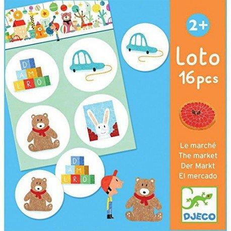 Preisvergleich Produktbild Loto 16 piezas El Mercado