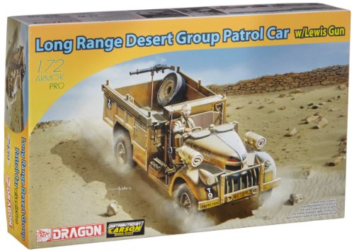 Dragon - D7439 - Maquette - Long Range Desert Group - Echelle 1/72