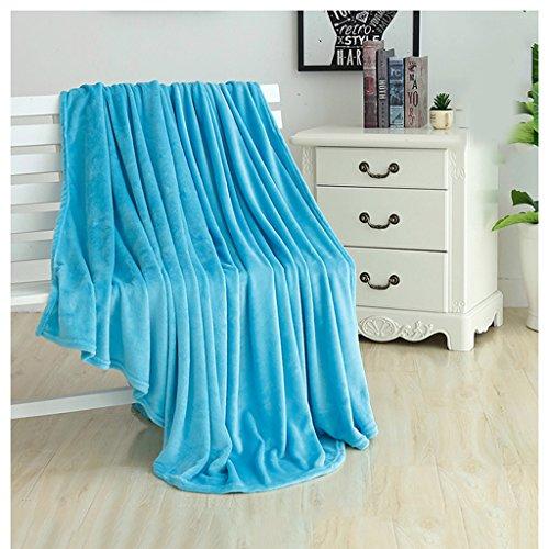 411ae97e120f6 Couvertures et plaids Couverture, automne et hiver chaud simple double  flanelle corail draps doux couverture