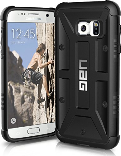 UAG Samsung Galaxy S7 [5.1-inch screen] Feather-Light Composite [BLACK] Military Drop Tested Phone Case  available at amazon for Rs.1990