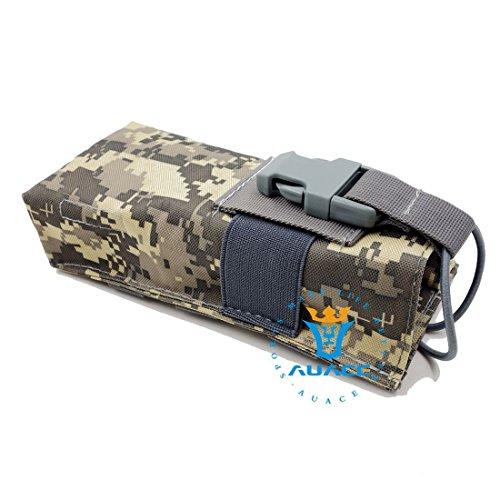 Multifunktions Survival Gear Tactical Beutel MOLLE Beutel Armee Wasser Flasche Tasche, Outdoor Camping Tragbare Tasche Handtaschen Werkzeug Tasche Reise Tasche ACU