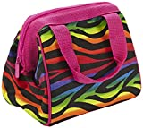 Fit & Fresh Kids' Riley Insulated Lunch Bag with Zipper, Cute School Lunch