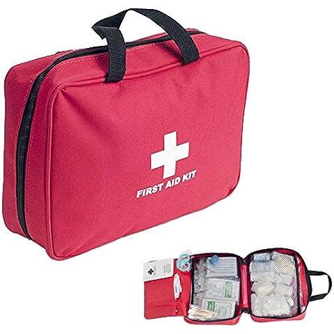 Kit de primeros auxilios completo para uso en automóviles, embarcaciones, camiones y otros vehículos - Express Panda Kit de primeros auxilios impermeable con 72 piezas