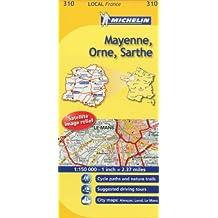Michelin Mayenne, Orne, Sarthe 310: France