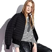 WJP mujeres ultra ligero de la chaqueta poco voluminoso abajo Outwear amortiguar por la chaqueta W-1794