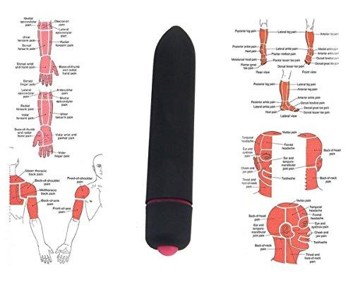 Gxma Mini elektronische Erschütterung Vibrator Massager zu Gesichts zervikalen Schulter Fuß und G-Punkt - 4