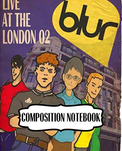 "Composition Notebook: Blur English Rock Band The Lo-Fi Style of American Indie Rock Groups US Mainstream Hit ""Song 2\"" Single. Soft Cover Paper 7.5 x ... Composition Notebooks, One Subject 110 Pages"