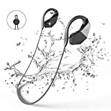 Bluetooth Wasserdichte Kopfhörer 8GB MP3-Player, GogoTool Bluetooth 4.1 IPX8 Wireless Super Bass In Ear Sport Sweatproof HiFi