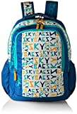 Skybags Polyester 30 Ltrs Blue Casual Backpack (BPHELFS5BLU)