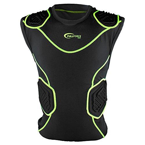 Full Force Shocc Lite 5 Pad Shirt mit Rippen- und Schulterpolsterung