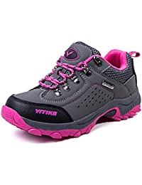 77170a5286 ASHION Hiking Shoes Comfortable Cilmbing Boots Boys Trekking Waterproof  Snowshoeing Ankle Support - for Travelling