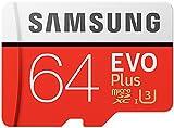 Samsung MB-MC64GA/EU EVO Plus Scheda MicroSD da 64 GB, UHS-I, Classe U3, fino a 100 MB/s di Lettura, 60 MB/s di Scrittura, Adattatore SD Incluso - Samsung - amazon.it
