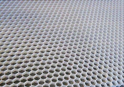 Vandix STABILISATEUR DE Gravier ECCO Gravel 40 Double Blanc 160X120 CM - Prix par M2
