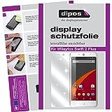 dipos I 2X Schutzfolie klar passend für Wileyfox Swift 2 Plus Folie Bildschirmschutzfolie