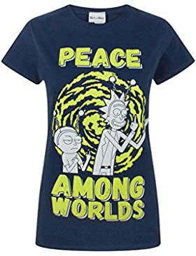 Rick and Morty Peace Among Worlds Women'S T-Shirt