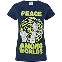 Rick and Morty Peace Among Worlds WomenS T-Shirt