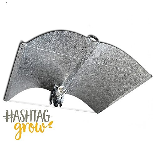 Adjust-A-Wing Avenger Medium mit Spreader & Fassung Reflektor NDL MH ESL Growbox (Grow Reflektor)
