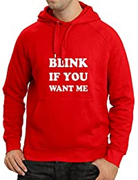 N4075H sudadera con capucha Blink if you want Me gift