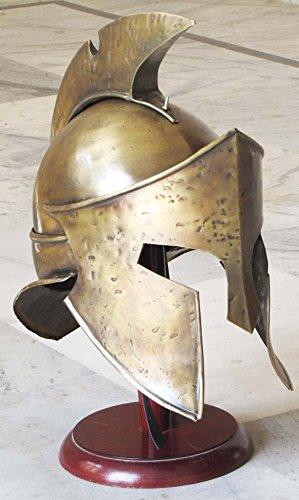 ovie Roman Spartan Helm, Sammlerstück Mittelalter König Leonidas Armor Helm ()
