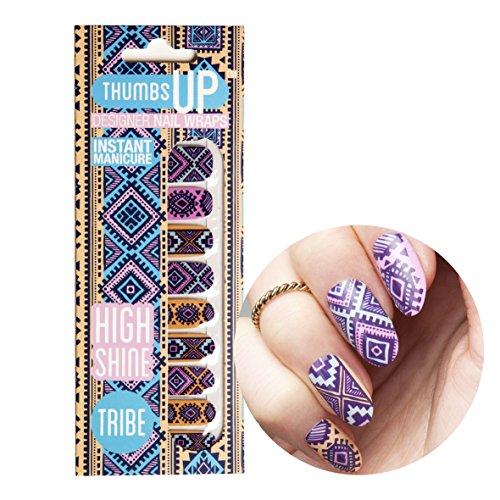 ThumbsUp Nails - Tribe Festival Nagelfolien 20 Folien / Packung