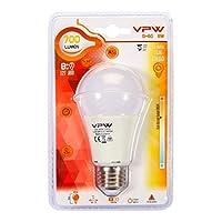 VPW G-60 8W Sıcak Gün Işığı 3000K Led Ampul