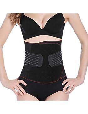 Faja Postparto Reductora Cintura Moldeadora con Velcro Transpirable Elástica para Mujer y Maternidad Recuperación...