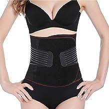 Faja Postparto Reductora Cintura Moldeadora con Velcro Transpirable Elástica para Mujer y Maternidad Recuperación Postpartum Support Belt