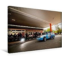 Premium Textil-Leinwand 45 cm x 30 cm quer, VW Rallye Golf II | Wandbild, Bild auf Keilrahmen, Fertigbild auf echter Leinwand, Leinwanddruck (CALVENDO Sport)