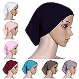 BaiTe Unter Kopftuch Hijab Kopftücher Hijab Kopftuch Damen Unter Schal