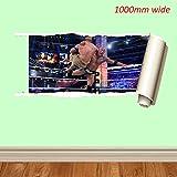 WWE Wrestling verschiedenen 1000mm und 700mm Wandtattoo Vinyl Art Wand für Autos Motorräder Wohnwagen Häuser customise4utm, rock rip, 700 mm