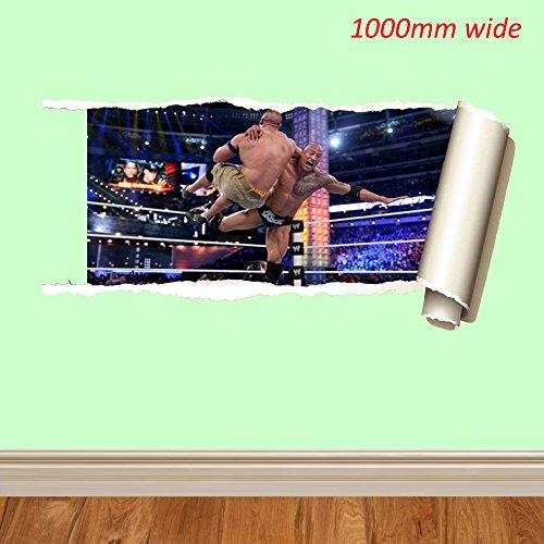 WWE Wrestling verschiedenen 1000mm und 700mm Wandtattoo Vinyl Art Wand für Autos Motorräder Wohnwagen Häuser customise4utm, rock rip, 700 mm Wwe Batista Spielzeug