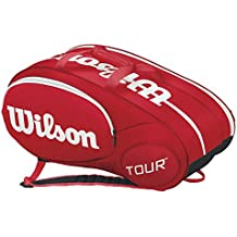 Wilson Mini Tour - Raquetero , color rojo, talla NS