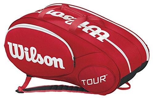 Wilson Mini Tour 6Pk Borsa, Rosso