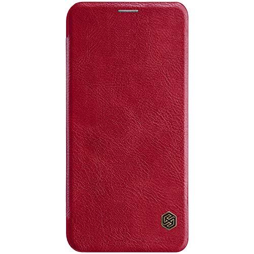 Tiga Shopping Xiaomi Mi A2 Lite/RedMi 6 Pro Caso - Boutique Negocio Slim  Cuero Flip Case Cover para Xiaomi Mi A2 Lite/RedMi 6 Pro - Rojo