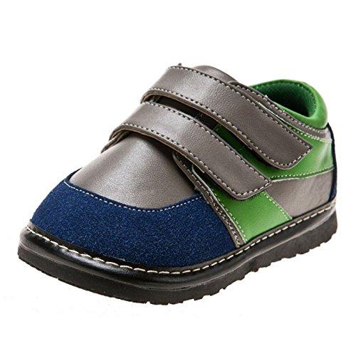 Little Blue Lamb - Scarpine bimba primi passi con fischietto | Sneakers grigio verde - Taglia: 20