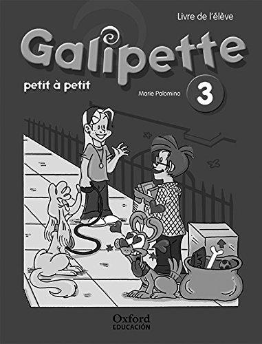 Galipette petit 3º primaria cahier d'exercises (arobase 2ª edición)