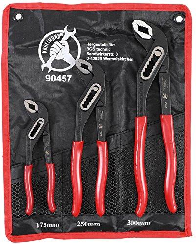 Force Homme 90457 Pompes à eau Kit de pinces | 3 pièces