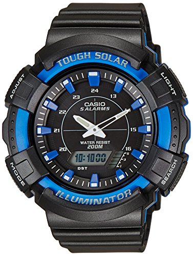 Casio (AD-S800WH-2A2VDF|AD187) Youth Series Black Dial Unisex Analog-Digital Watch image