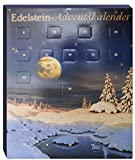 Edelstein Adventskalender mit Winterlandschaft - Weihnachtsmotiv