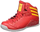 adidas NXT LVL SPD IV NBA K, Zapatillas de Baloncesto para Niños, Blanco (Ftwbla/Azul/Naranj), 31 EU