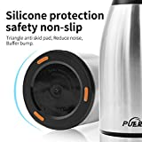 1.7L Coffee Pots Thermos Vacuum Jug 304 Stainless Steel -Wall Vacuum Insulated Coffee Dust-proof Pot Juice / Milk / Tea Insulation Thermos Water Jug By Puersit.