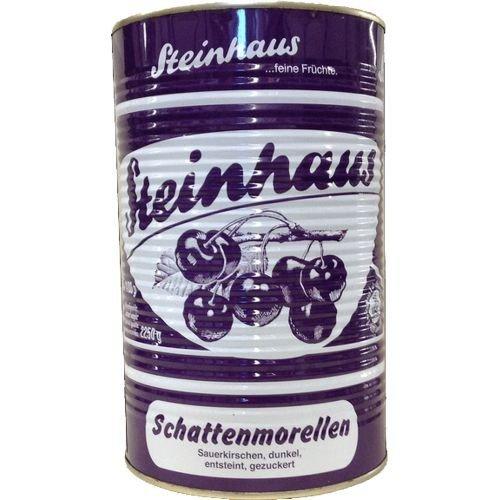 Oberpfälzische Konserven süsskirsc.schw.o.stein5/1, 1er Pack (1 x 4.25 kg)