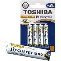 Toshiba® Batterie Ni-MH AA Batteries Piles Batterie rechargeable 1.2V pour lecteur MP3Téléphone portable Jouet Télécommande LED caméra prêt à l'emploi