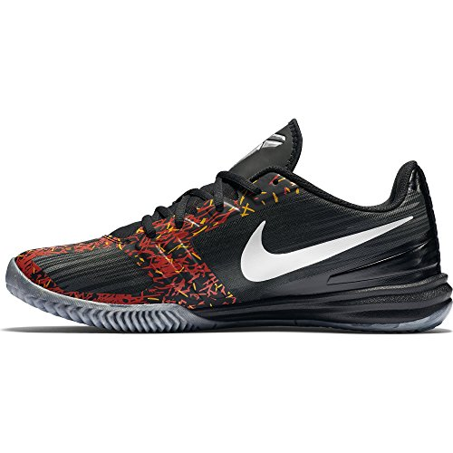 Nike KB Mentality - Scarpe da basket, da uomo Negro / Gris (Black/Chrome-Anthracite-Cl Gry)