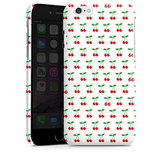Apple iPhone 5 Housse Étui Silicone Coque Protection Cerises Rockabilly Fruits Cas Premium brillant