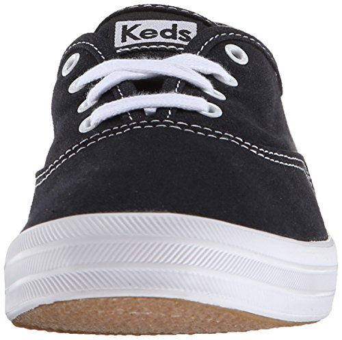 Keds Women's Champion Original Canvas Sneaker, Black Canvas, 13 XW US Black Canvas